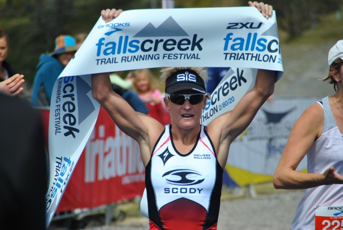 Mel to take on Cairns. Shown here winning the Australian Long Course Title at Falls Creek this year