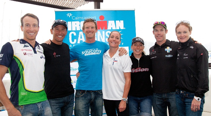 Ironman Cairns Press Conference 2012