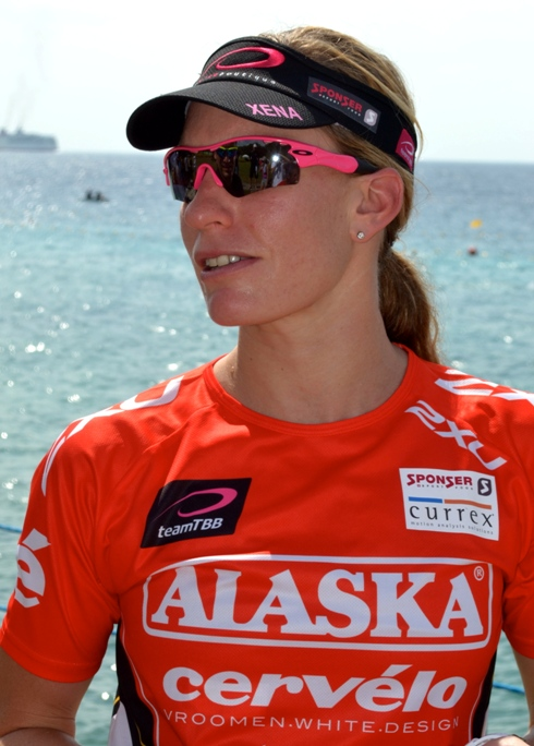 Caroline Stfeen was very relaxed as we chatted in Cebu