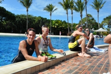 Richard Thompson, Ollie Whistler, Matty White & Mark-Bowstead recovering after last year's race