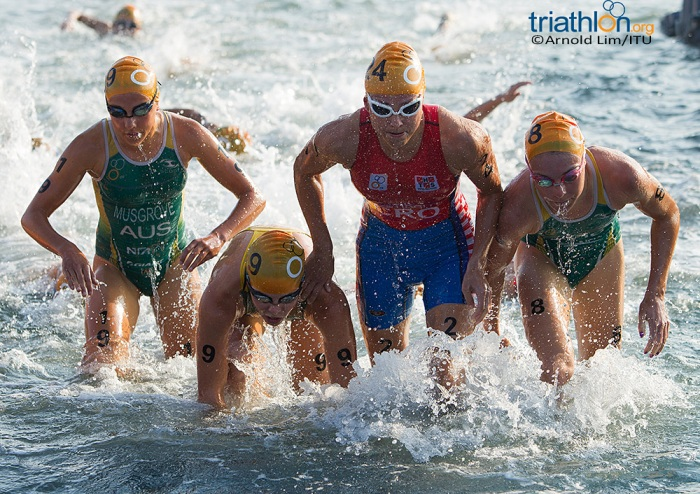 Some good results for the young Aussies - Credit: Triathlon.org   Arnold Lim / ITU