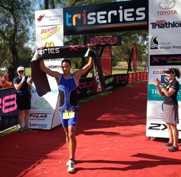 Nuru Somi winning Satruday's Pro Tour before backing up to win Sunday's Olympic Distance race