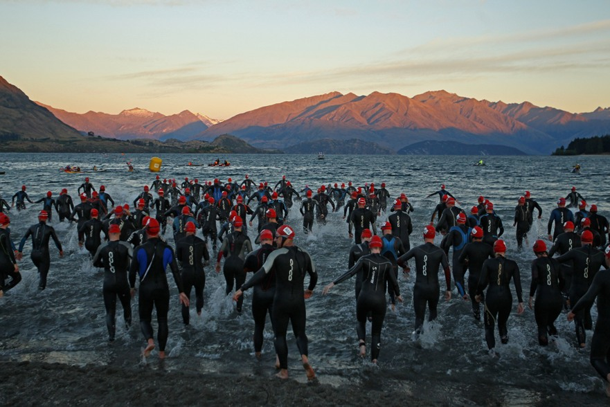 one of the most stunning triathlon locations in the world.