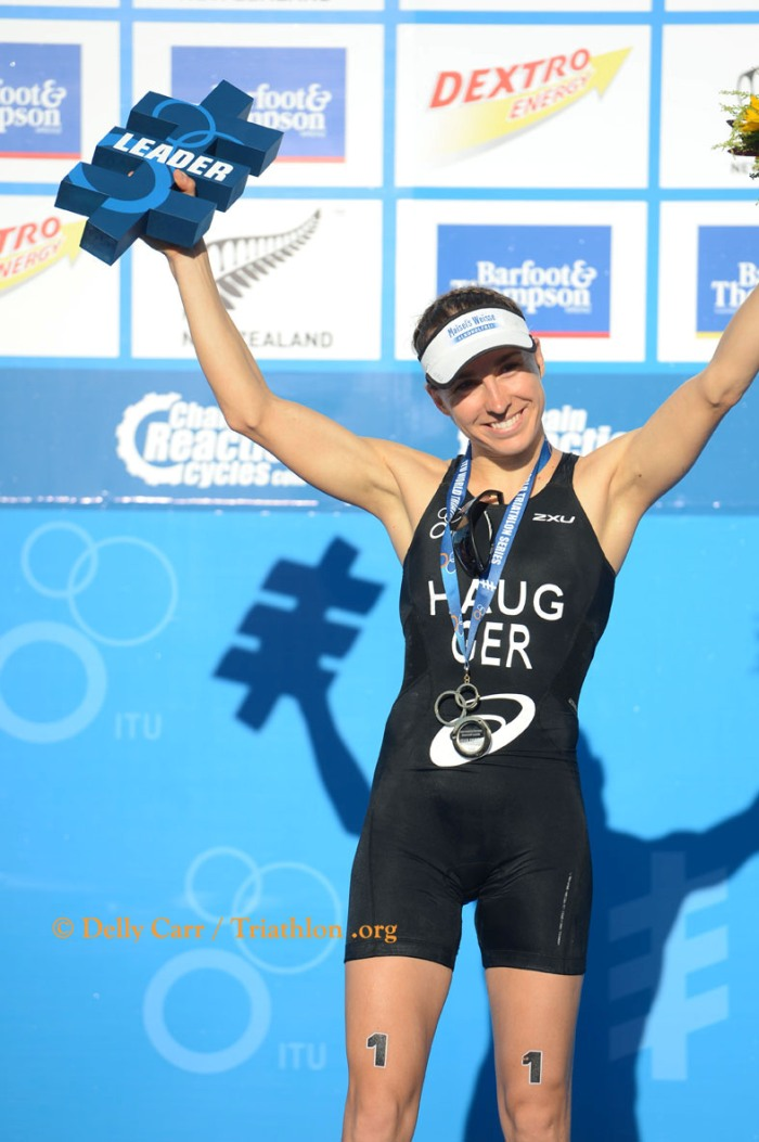 Anne Haug started 2013 the same way she finished off 2012 with a win in Auckland