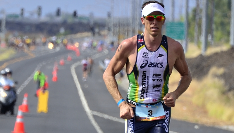 Pete Jacobs at Kona in 2012