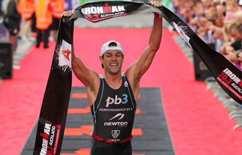 Chris Kemp dominated the field in January at the Ironman 70.3 Asia-Championship in Auckland