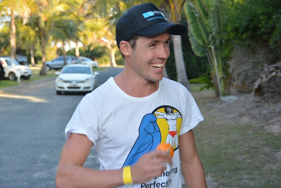 Tim Reed was estatic with his back to back wins at Yeppoon