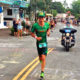 Luke looked like he had won Kona as he ran past us on Ali'i drive as he approached the finishline