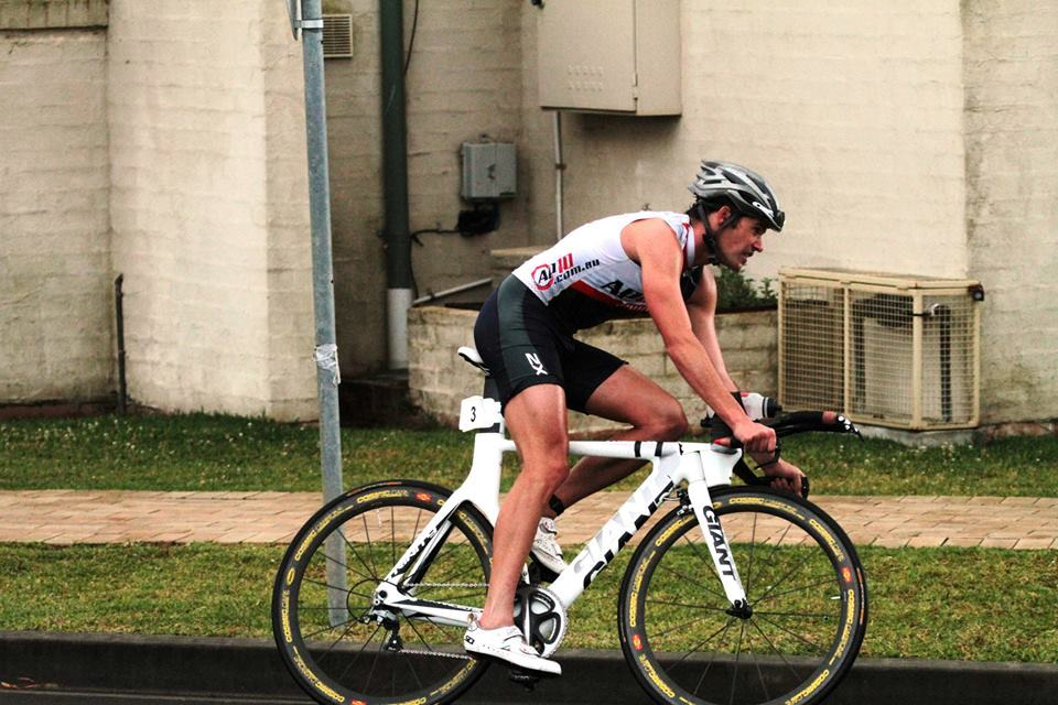 James Davy on his way to a season opening win at Huskisson.