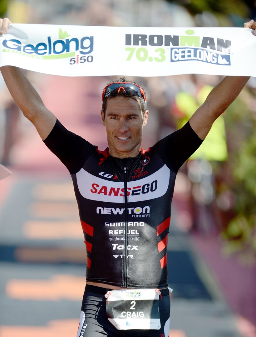 Crowie announces his intentions for the future and his focus on 70.3 - Photo Credit: Delly Carr