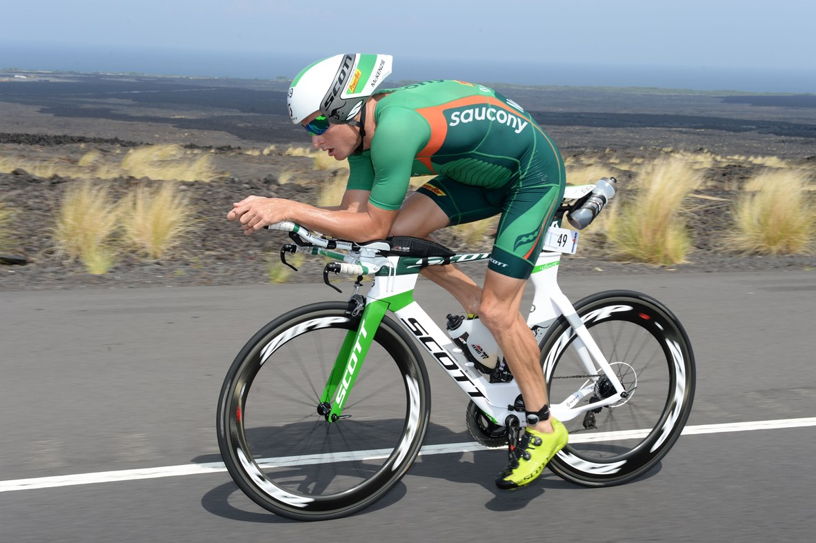 Luke McKenzie - Photo credit: Delly Carr/IRONMAN