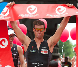 Dylan McNeice (NZL) claims the 2104 Challenge Taiwan title - Photo credit: Darryl Carey Photography