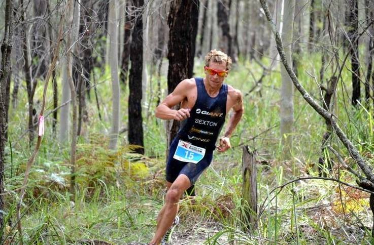 Brendan on his way to a top finish in his first Xterra - Photo courtesy of Xterra