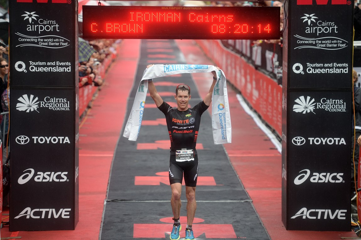 Ironman legend Cameron Brown takes another amazing win - Photo Credit: Delly Carr / Ironman.com