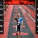 Tim Berkel crosses for 2nd overall - Photo Credit: Delly Carr / Ironman