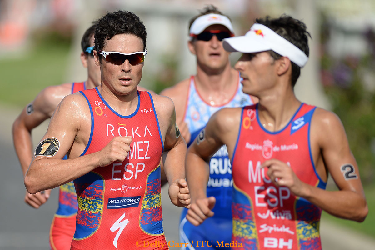 The fastest runners in WTS at the moment - Phto Credit: Delly Carr / ITU Media