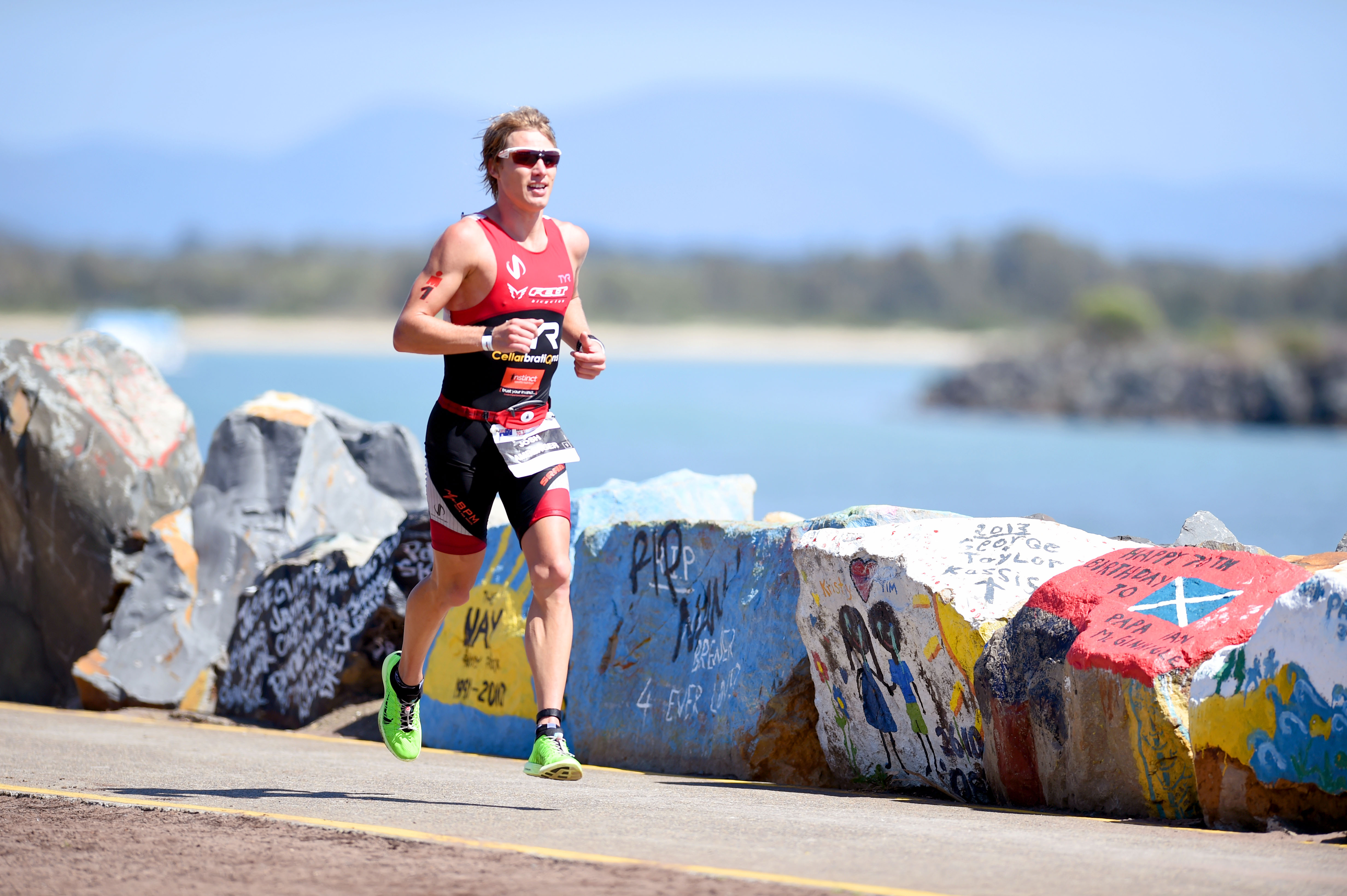 Amberger runs to his second victory here in Port Macquarie