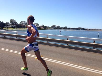 Michael Raelert will be looking to take another Ironman 70.3 victory on Australian soil this weekend in Ballarat