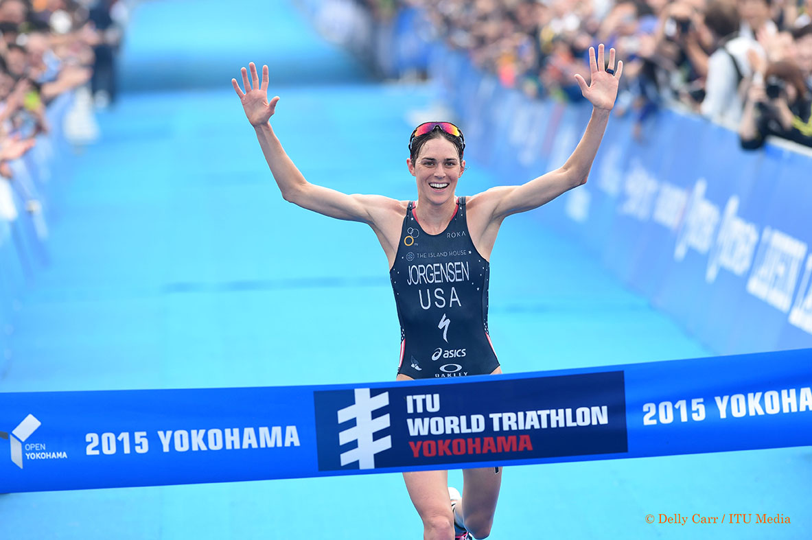 Gwen is on another level at the moment - Photo Credit: Delly Carr / Triathlon.org