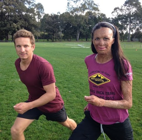 Turia and Michael are set to take on the Challenge this weekend in Forster