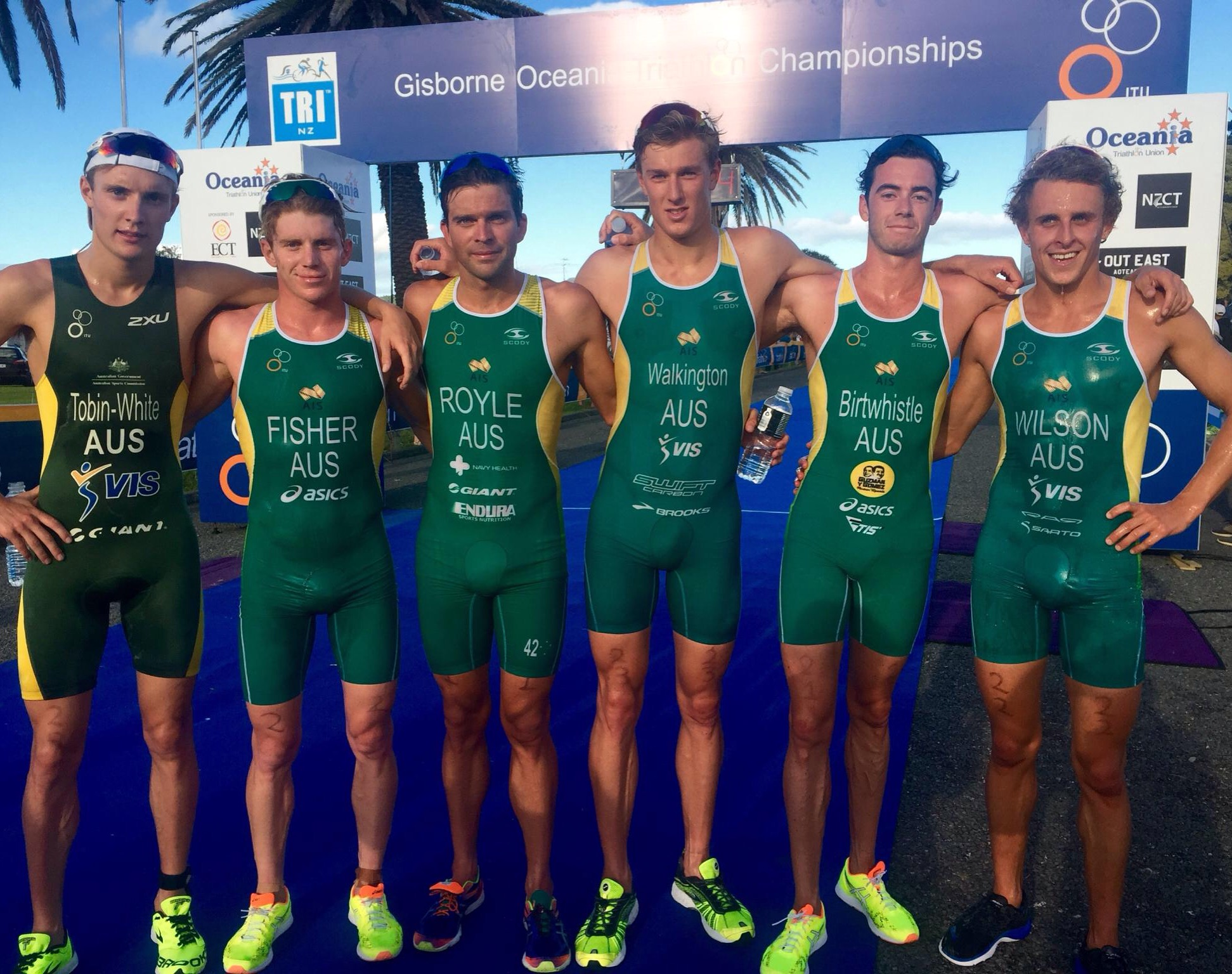 The Green and Gold Machine was on fire in Gisbourne