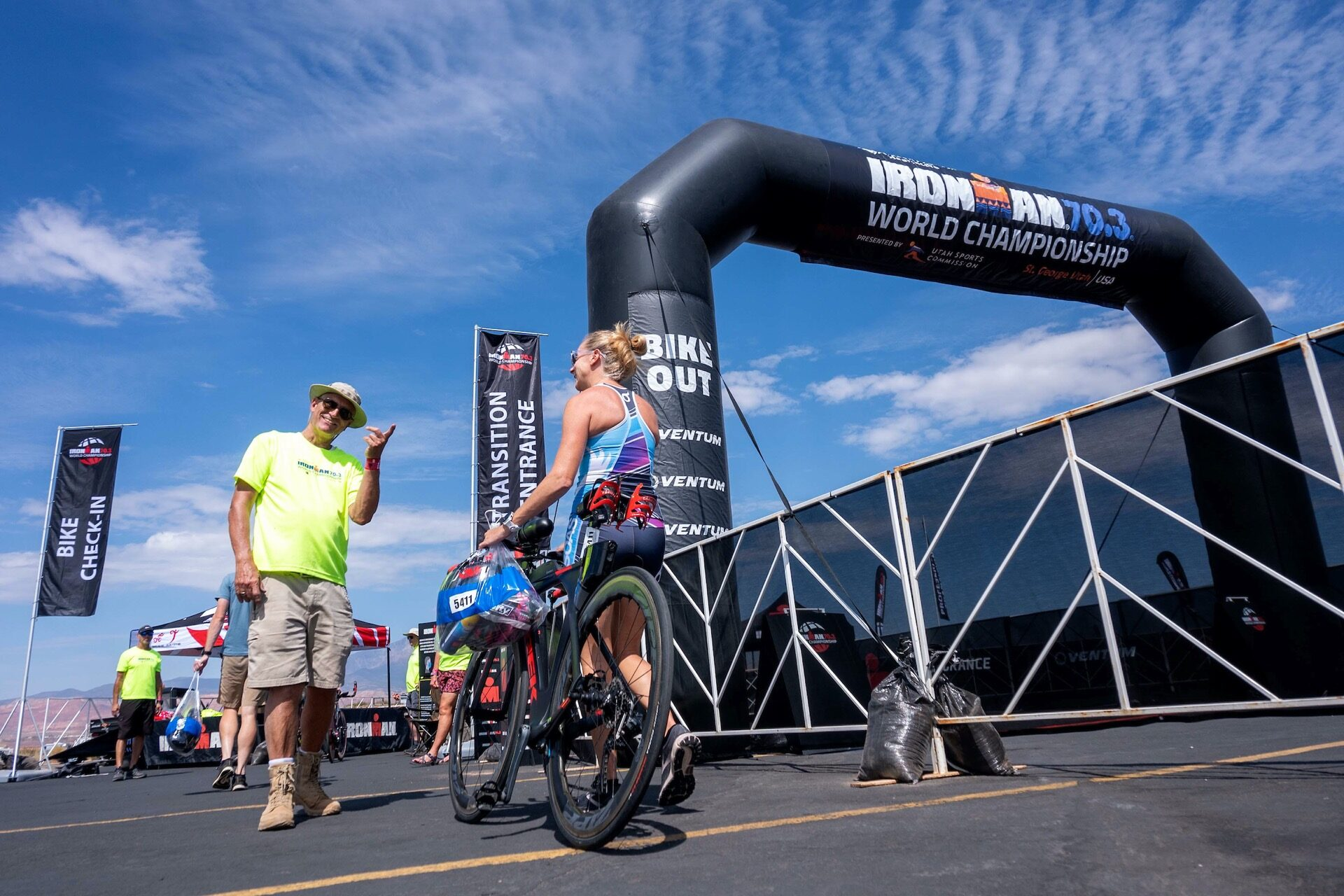The final preparations have now been completed and athletes have headed to bed ahead of the 2021 Ironman 70.3 World Championship. We take a look back at Friday's action in St. George ahead of the big race.